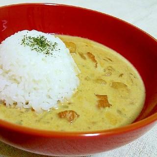 カレーリメイク☆ミルクチーズスープカレー