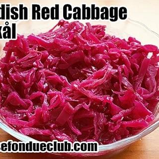 スウェーデンの紫キャベツ(赤キャベツ)の酢漬け