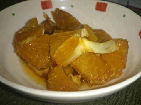 オレンジのブランデー漬け