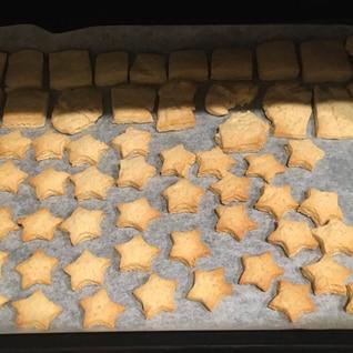 天ぷら粉クッキー