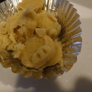 簡単レンジパンケーキ