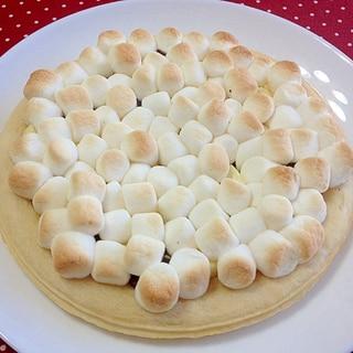 マックスブレナーの☆チョコピザ簡単再現
