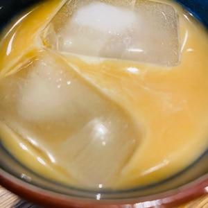 ドリップコーヒーでアイスカフェモカ☆