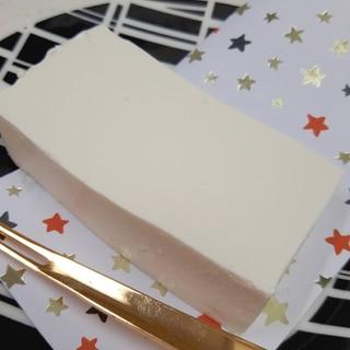 冷凍ホイップで(^^)豆腐のクリームチーズケーキ♪