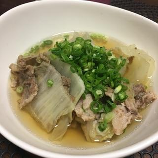 【糖質オフ】白菜のミルフィーユ鍋☆
