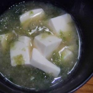 青さの味噌汁
