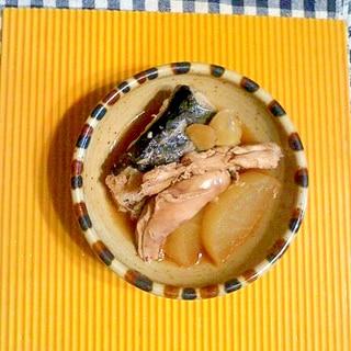 鰆のアラ煮♪