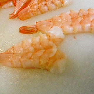 寿司えび ゆで方