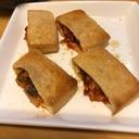 キムチーズの巾着焼き