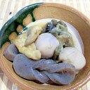 里芋となすの煮物
