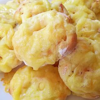 ホットケーキミックスで作る!ベーコンチーズパン
