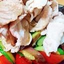 夏野菜たっぷり!冷しゃぶサラダ