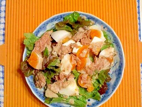 サニーレタスと卵のサラダ♪