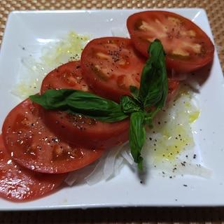 冷やしトマトマリネ