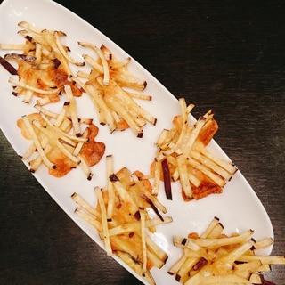 さつまいもとチーズのガレット★オーブンで簡単♪