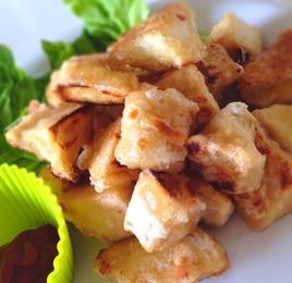 高野豆腐で簡単ナゲット