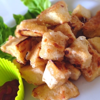 余った高野豆腐で簡単ナゲット