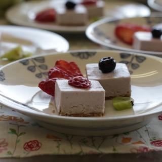 ローストロベリーケーキ