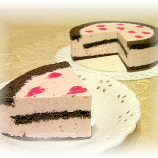 フルーチェdeババロアケーキ
