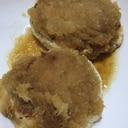 お酢でヘルシー◎豆腐ハンバーグ(おろしソース)