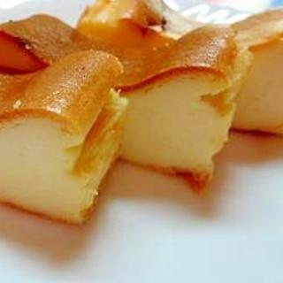 ミキサーで混ぜるだけ♪ 簡単ベイクドチーズケーキ