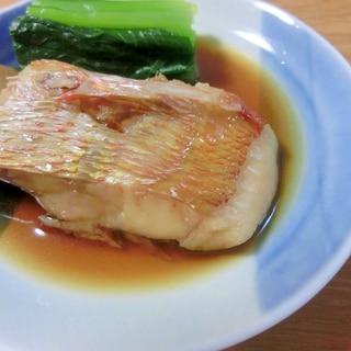 甘口のやさしい味♡連子鯛の煮つけ