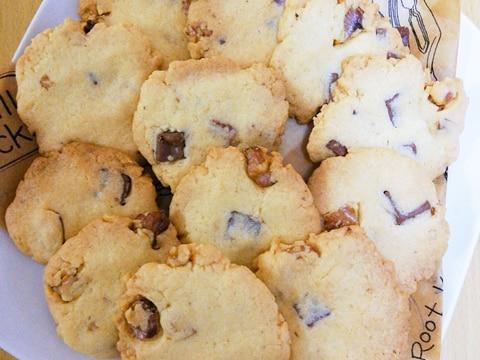簡単♡くるみとチョコチップのクッキー