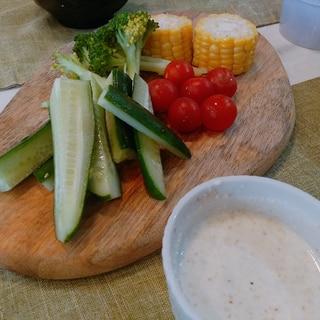 野菜を美味しく♪チーズのディップソース☆