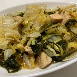 水菜たっぷり☆豚肉と水菜のさっと煮