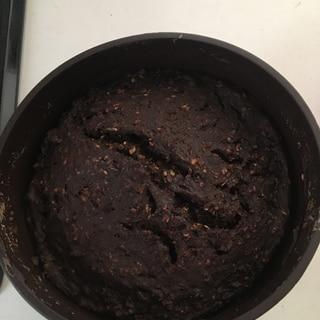豆腐一丁使い切りチョコ不使用オートミールブラウニー