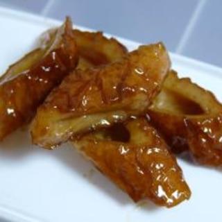 お弁当!ツヤッツヤのちくわ甘辛煮☆