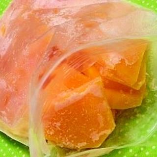 バターナッツ南瓜は冷凍が便利♪
