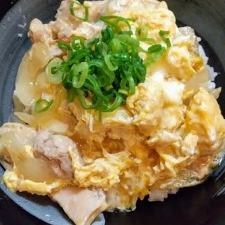 円やかな豆乳入り親子丼(*^^*)