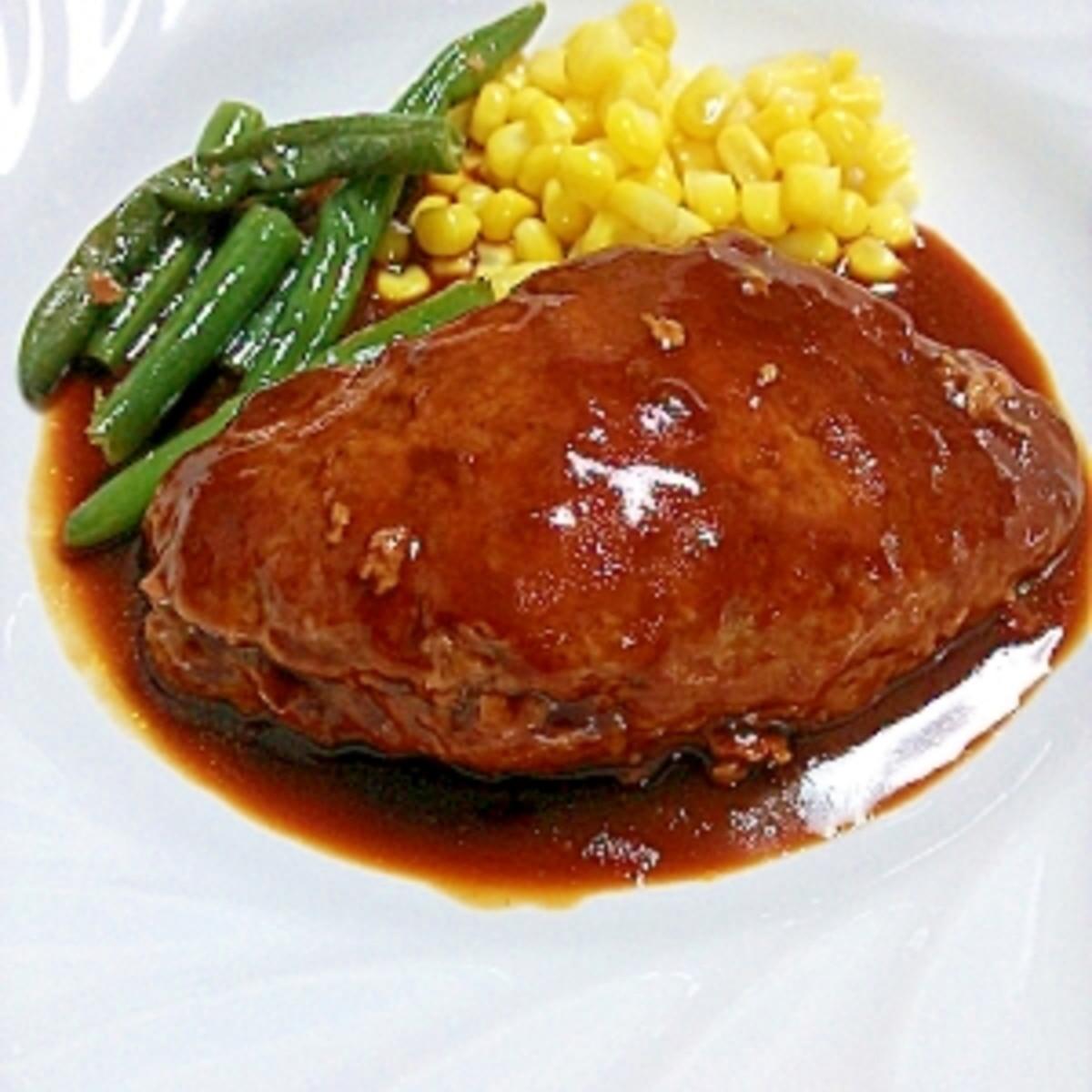 ひき肉 ハンバーグ 豚