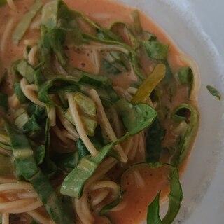 明太スープパスタ