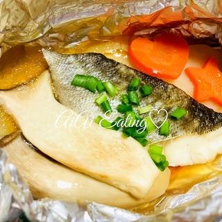 ♡バターポン酢で絶品♪簡単野菜と鱈のホイル焼き♡
