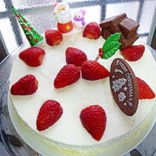 苺のクリスマスドゥーブルフロマージュ