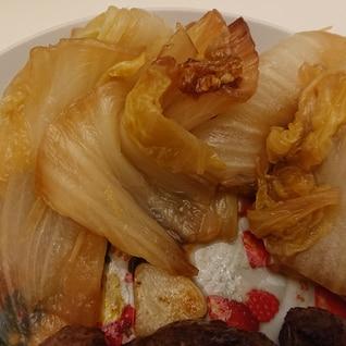 隙間おかずやあと一品、付合わせに⭐白菜のすき焼き風