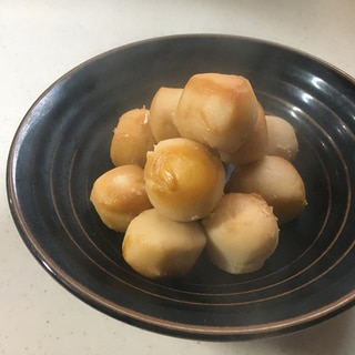 炊飯器で里芋の煮転がし