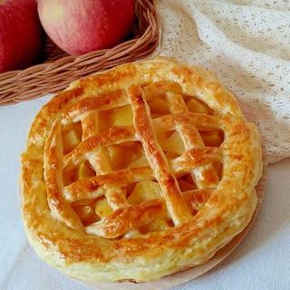 型なし レンジでりんごフィリング 簡単アップルパイ