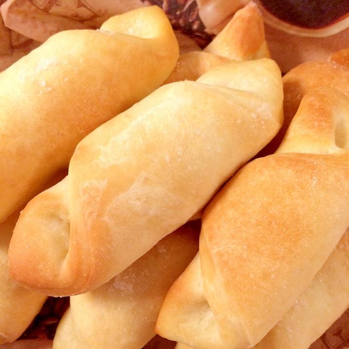 塩パン♪初心者でも簡単にお店の味♪(HB使用)