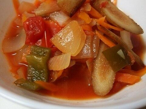 根菜のミネストローネ風