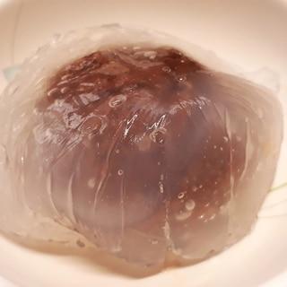簡単!片栗粉で水まんじゅう