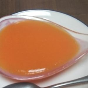 オレンジみたいな・・人参のさわやか野菜ゼリー♪