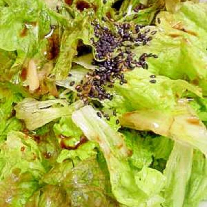 韓国風 サニーレタス浅漬けサラダ