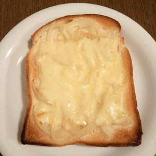 ホタテ風味のチーズトースト
