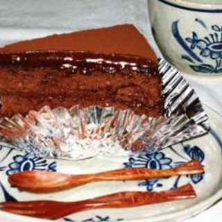 濃厚チョコレートケーキ