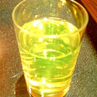 ☆*:・リアルゴールドとレモン汁割り焼酎☆*:・☆