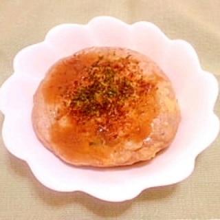 お好み焼き風♪蕎麦粉と米粉のおやき