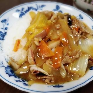 野菜たっぷり! 八宝菜* 中華飯* 餡かけ焼きそば